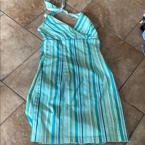 Size 3 summer halter dress